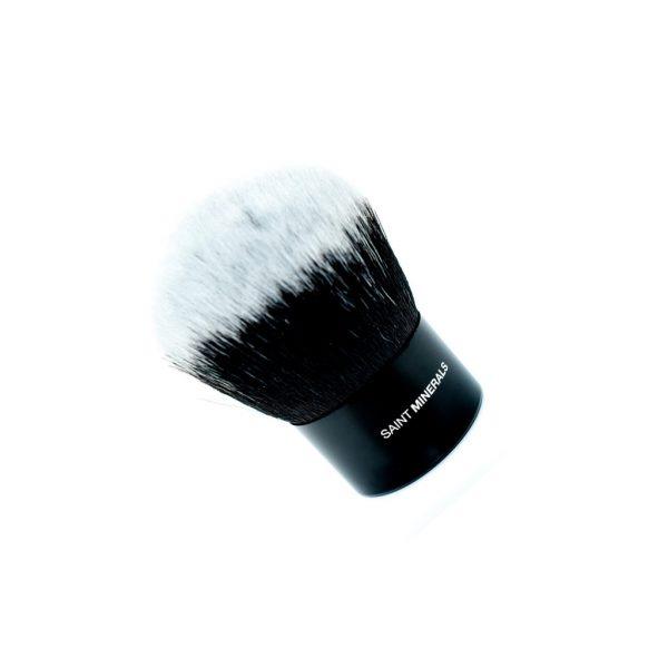 saint minerals kabuki brush